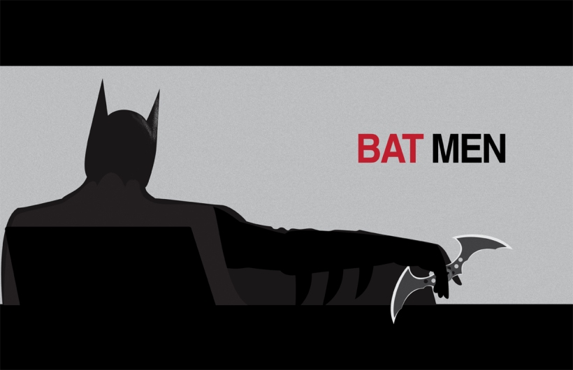 Mad Men inspired Batman