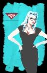 Vintage Retro Black Cat 2
